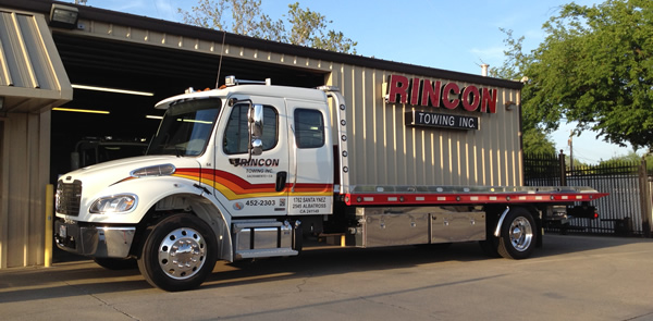 Flat Bed Towing in Sacramento California, Rincon Towing